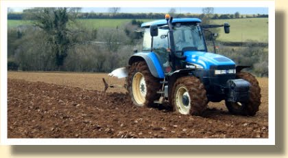 Ploughing Cotswolds